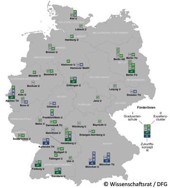 Kleine Chronik Der Fu Berlin Exzellenzinitiative