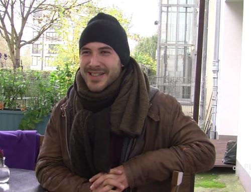 Kreischende Tram statt krähender Hahn (Video)