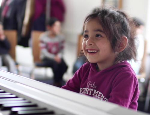 Chor für geflüchtete Kinder (Audio)