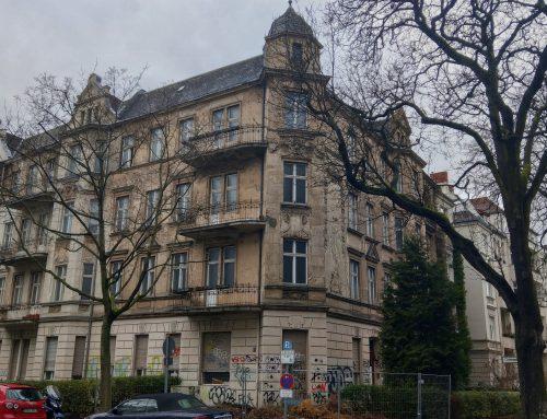 In Friedenau steht ein Geisterhaus