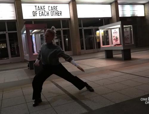Arbeit einer professionellen Tänzerin in Berlin (Video)