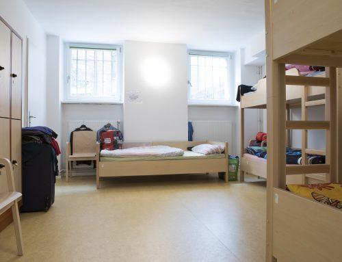 """Arbeiten in der Notübernachtung """"Marie"""": Zehn Schlafplätze für obdachlose Frauen"""