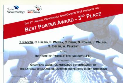 Poster Award – Congratulations