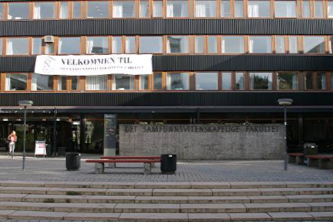 photo of Oslo Universitys social sciences building