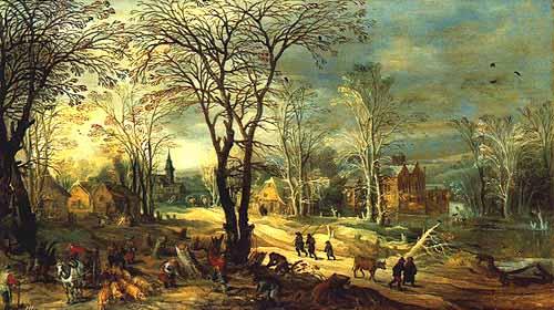 Landschaftsmalerei renaissance  Frame-Herbst