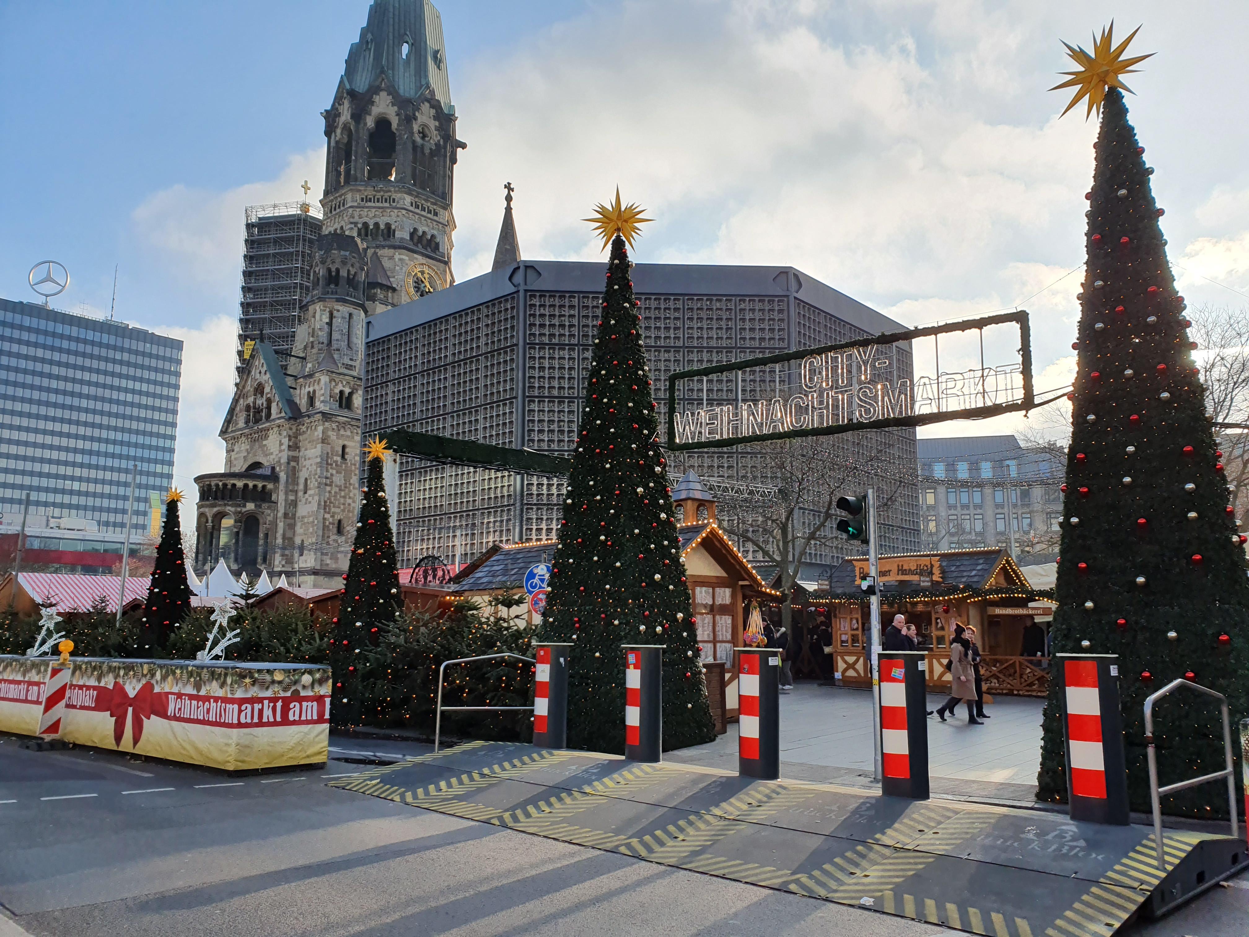 """Weihnachtszeit am Breitscheidplatz: """"Man denkt einfach daran."""""""