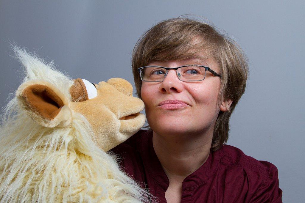 Anke und das Schaf